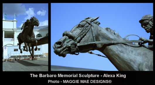 The Barbaro Memorial Scultpure-Alexa King