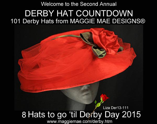 MAGGIE MAE DESIGNS® Derby Hat Countdown – 8 of101